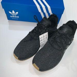 Men's adidas black X_PLR